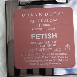 "🌞SALE NWOB Urban Decay ""Fetish"" Afterglow  Blush"